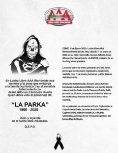 Muere La Parka