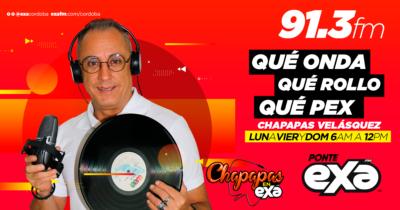 CHAPAPAS EN EXA FM 91.3 #ENTODASPARTES #PONTEEXA