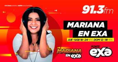 MARIANA RODRIGUEZ EN EXA FM 91.3 #ENTODASPARTES #PONTEEXA