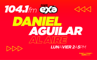 Daniel Aguilar al aire