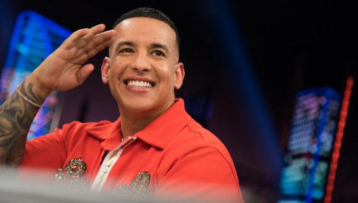 Daddy Yankee durante una entrevista.
