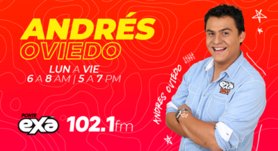 Andres Oviedo al aire