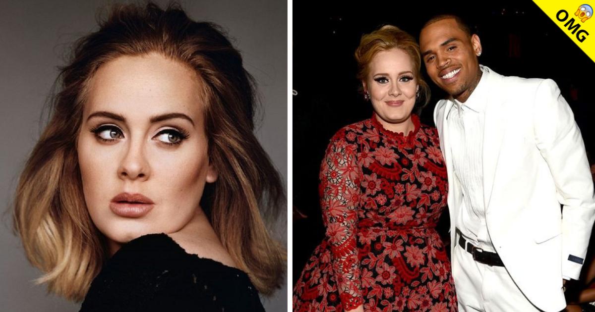 Aseguran Que Adele Y Chris Brown Se Encuentran En Una Relacion Exa Fm