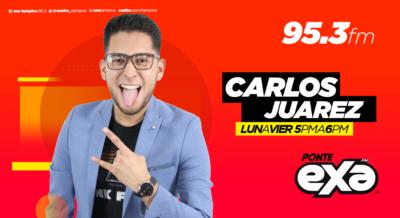 CARLOS JUAREZ EN EXA