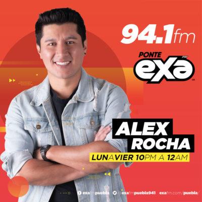 Alex Rocha en EXA