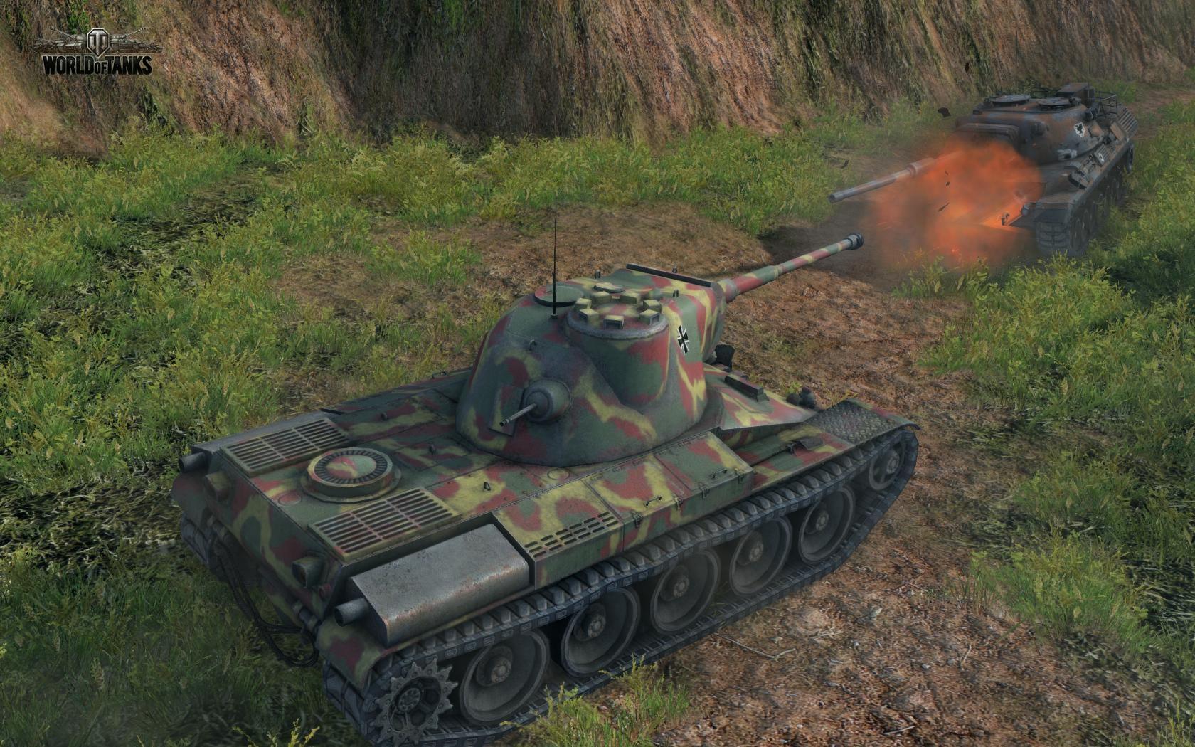 Indien Panzer na novej mape