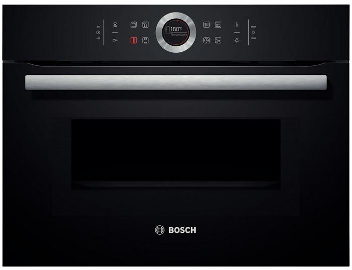 Bosch CMG633BB1 Inbouw combi magnetron Zwart