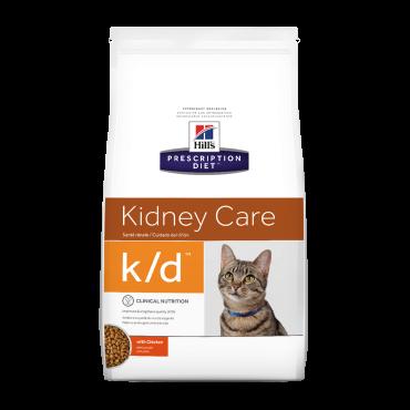 Ração Hills Prescription Diet K/d Cuidado Renal Para Gatos Adultos Com Doença Renal - 1 8kg