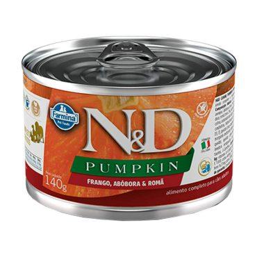 Ração Úmida N&D Pumpkin Cães Adultos Wet Frango/roma/abobora 140g