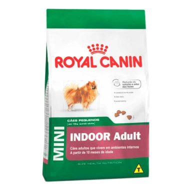 Ração Royal Canin Mini Indoor Adult Para Cães Adultos De Raças Pequenas - 7 5kg