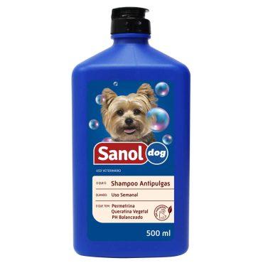 Shampoo Sanol Anti Pulgas