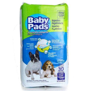 Tapete Higiênico Baby Pads Com 30 Un. - 4 Pacotes