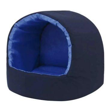 Cama Iglu Gorgurinho Para Cães E Gatos Azul G