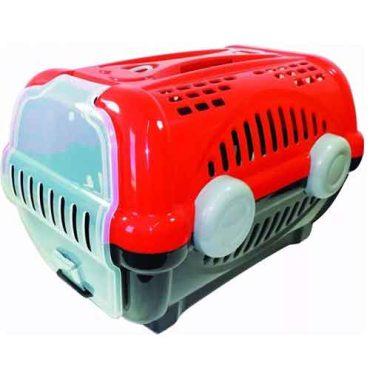 Caixa De Transporte Luxo Número 2 Vermelha - Furacão Pet
