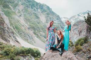ГорыЮбок - тренинг-поход в Приэльбрусье для девушек