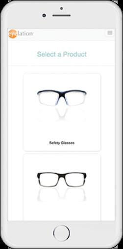 Eyelation's Mobile ordering through WebOrder app