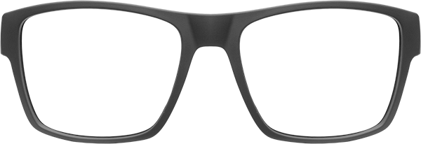 Prescription Safety Glasses: HiDX A001 (Matte Black)