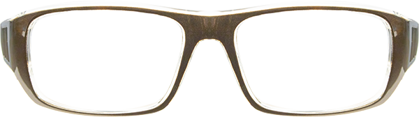 Prescription Safety Glasses - Bollé B808 (LG) (Gunmetal) - front view