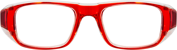 Prescription Safety Glasses: Bollé B808 (LG) (Red)