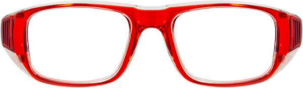 Prescription Safety Glasses: Bollé B808 (SM) (Red)