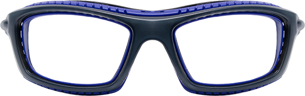 Prescription Safety Glasses: Bollé Baxter (Black/Blue)