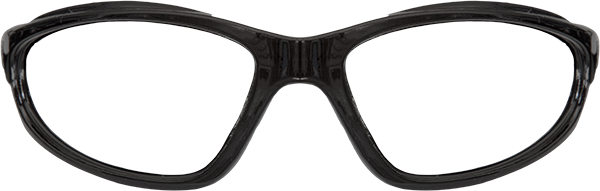 Prescription Safety Glasses: Edge Eyewear Dakura (Gloss Black)