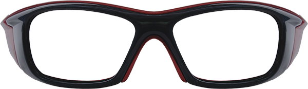 Prescription Safety Glasses: Bollé Drift (Black/Red)