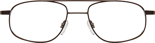 Prescription Safety Glasses: UVEX Titanium Collection EXT10 (Brown)