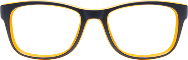 Prescription Safety Glasses: Bollé Kick (Black/Orange)