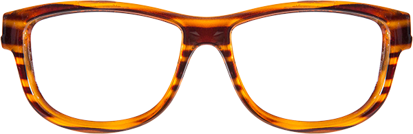 Prescription Safety Glasses - WileyX Worksight™ Series Marker (Brown Streak) - front view