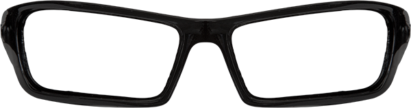 Prescription Safety Glasses: Edge Eyewear Reclus (Gloss Black)