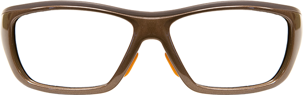 Prescription Safety Glasses: UVEX SWRX Collection SW07 (Type 1) Brown