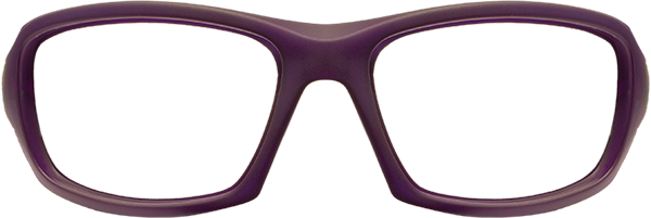 Prescription Safety Glasses: WileyX Climate Control Series Sleek (Matte Violet)