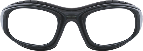 Prescription Safety Glasses - Bollé Twister (Gunmetal) - front view