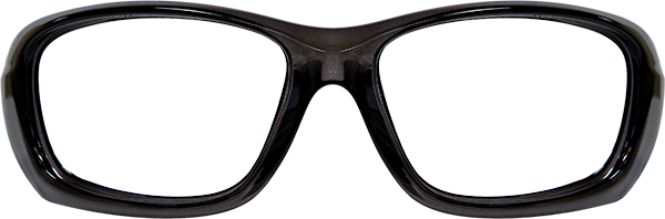 Prescription Safety Glasses: WileyX Climate Control Series Gravity (Black Crystal)