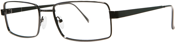 Prescription Safety Glasses - ArmouRx Basic Collection 7013 (Black) - side view