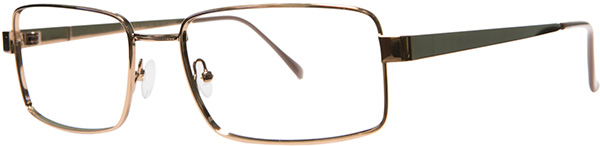 Prescription Safety Glasses - ArmouRx Basic Collection 7013 (Brown) - side view