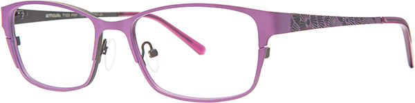 Prescription Safety Glasses - ArmouRx Metro Collection 7103 (Purple) - side view