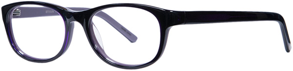 Prescription Safety Glasses - ArmouRx Metro Collection 7106 (Purple) - side view