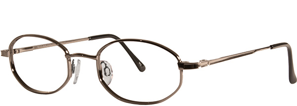 Prescription Safety Glasses - UVEX Baseline Collection BC115 (Dark Bronze) - side view
