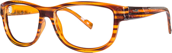 Prescription Safety Glasses - WileyX Worksight™ Series Marker (Brown Streak) - side view