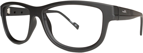 Prescription Safety Glasses - WileyX Worksight™ Series Marker (Matte Black) - side view
