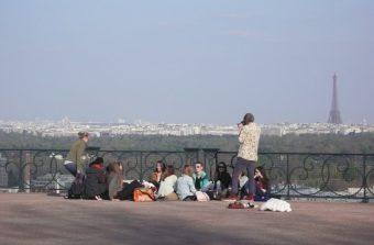 Toit-terrasse avec vue sur Paname