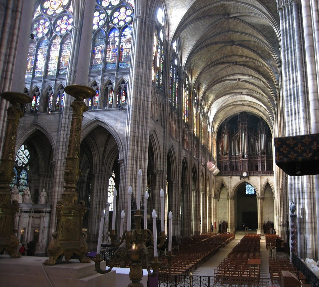Basilique Saint-Denis / © Pierre Metivier