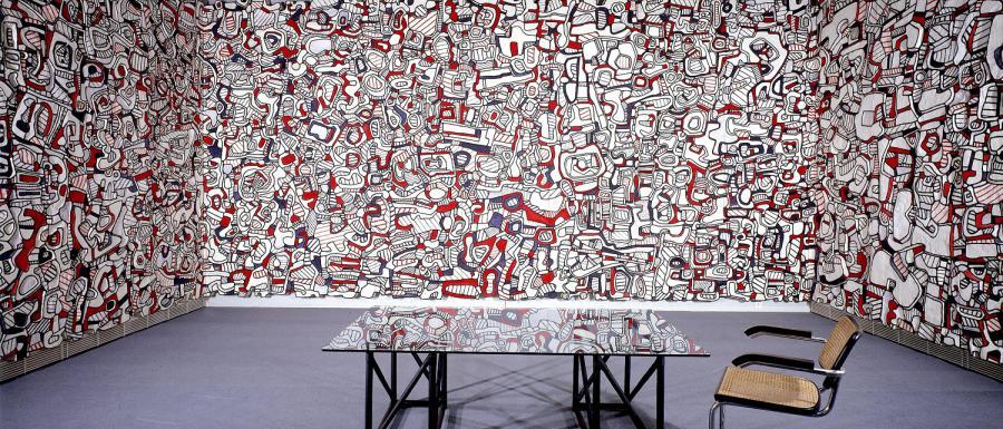 La Closerie Falbala, Fondation Dubuffet à Périgny / © Fondation Dubuffet / A.D.A.G.P Paris