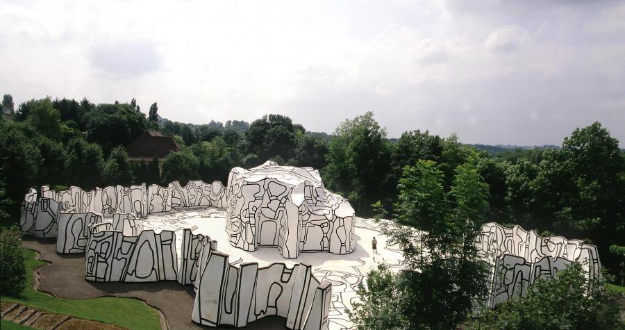La Closerie Falbala, Fondation Dubuffet à Périgny / Crédit : A.D.A.G.P Paris