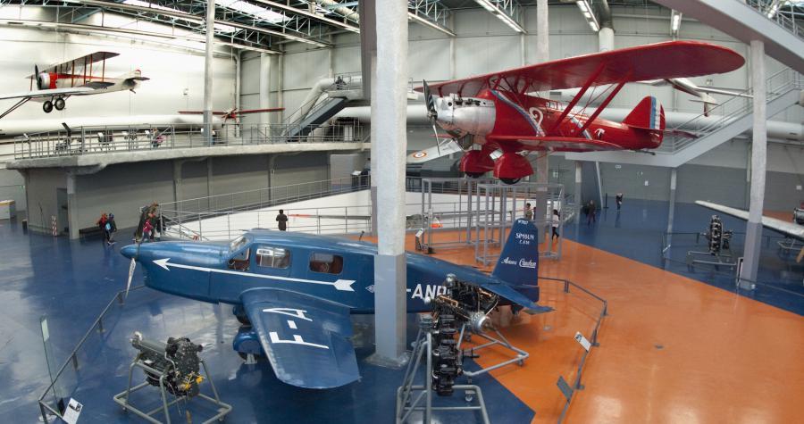 Musée de l'air et de l'espace au Bourget / © V_Pandellé