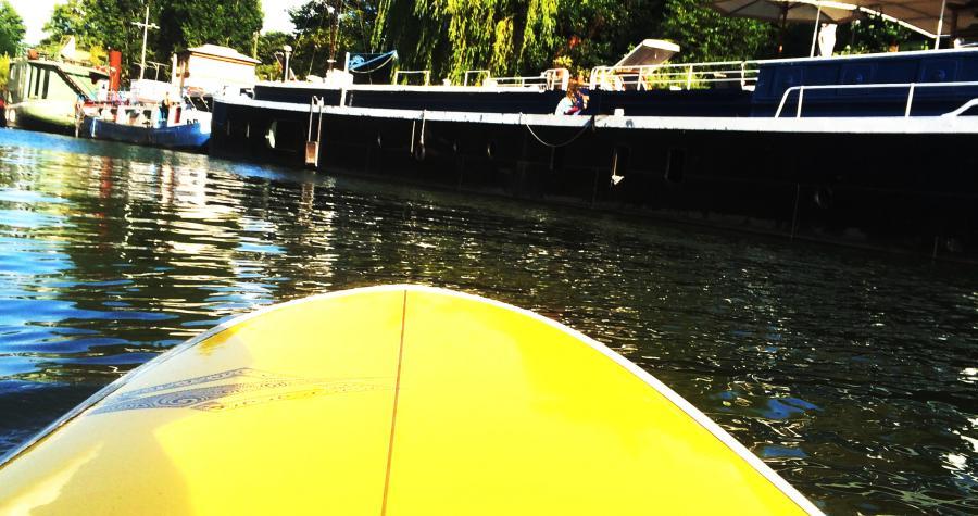 Paddle sur la Seine © Joséphine Lebard