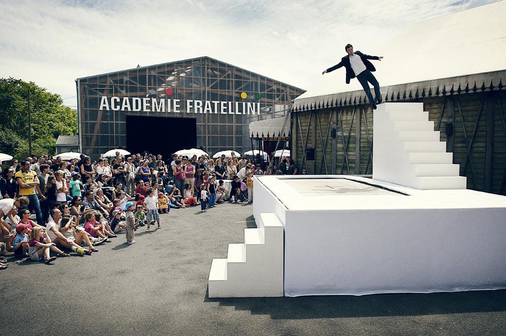 Académie Fratellini à Saint-Denis / DR