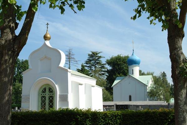 Cimetière russe de Sainte-Geneviève-des-Bois / © Wikimédia